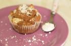 Veganes Muffin-Rezept: mit Apfel, Kakao und Rosinen