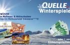 QUELLE Winterspiele: Gewinnen Sie einen Wellness- und Aktivurlaub für zwei