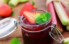 Erdbeer-Rhabarber Konfitüre