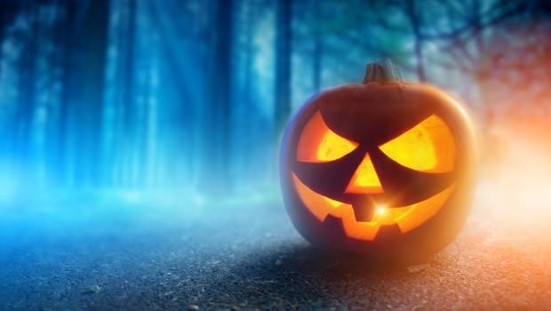 Halloween Kürbis schnitzen