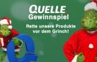 QUELLE Grinch Gewinnspiel 2015