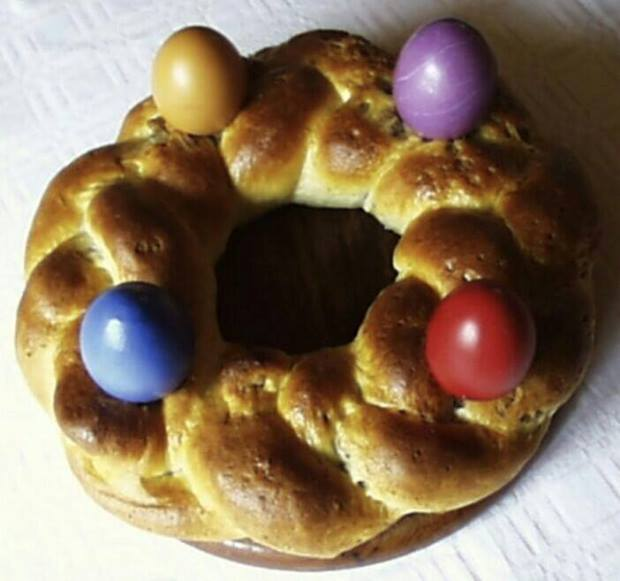 Der traditionelle Osterkranz