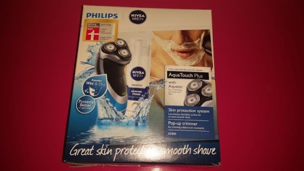Philips Herrenrasierer AT890/26 AquaTouch Wet&Dry