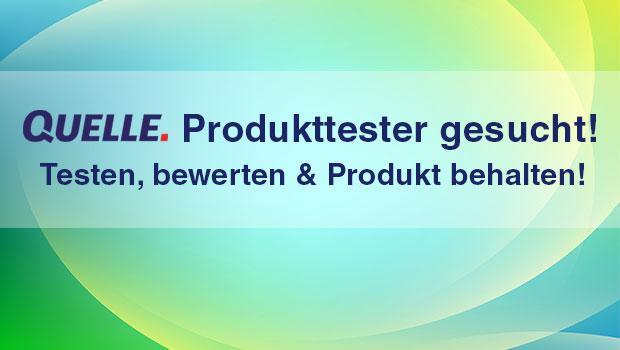 QUELLE Produkttester