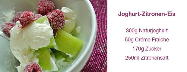 Joghurt-Zitronen-Eis