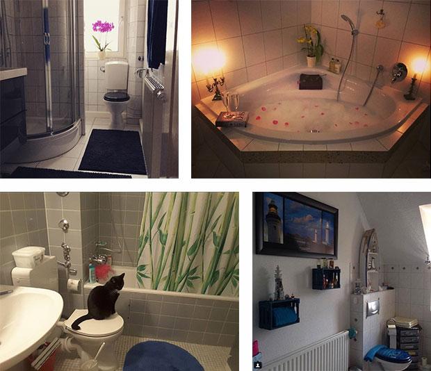 Badezimmer #sowohntdeutschland