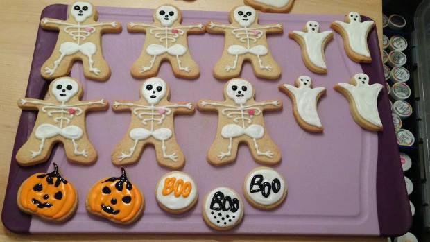 Leckere Halloween Kekse