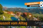 Auszeit vom Alltag! Bei QUELLE Alpin Aktiv Urlaub gewinnen