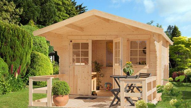 Gartenhaus bei QUELLE