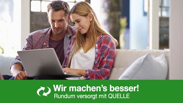Services zu Elektro-Großgeräten – Rundum versorgt mit QUELLE