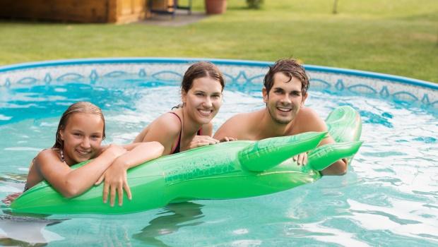 Der Pool im eigenen Garten