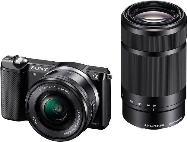 Sony Alpha ILCE-5000Y Set System Kamera