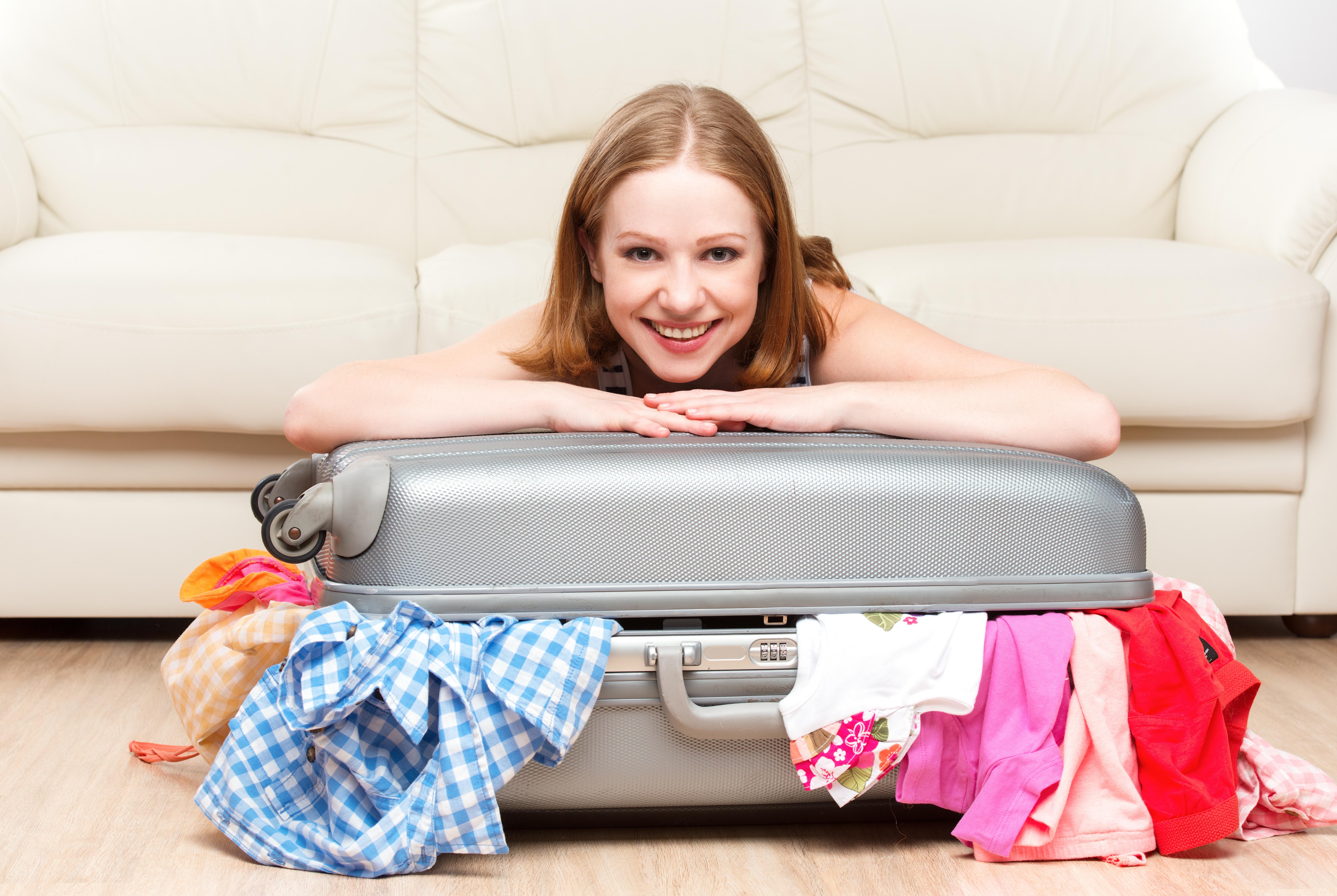 koffer sinnvoll packen