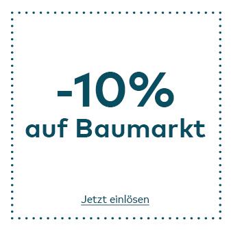 -10% Rabatt auf Baumarkt im Quelle Online Shop