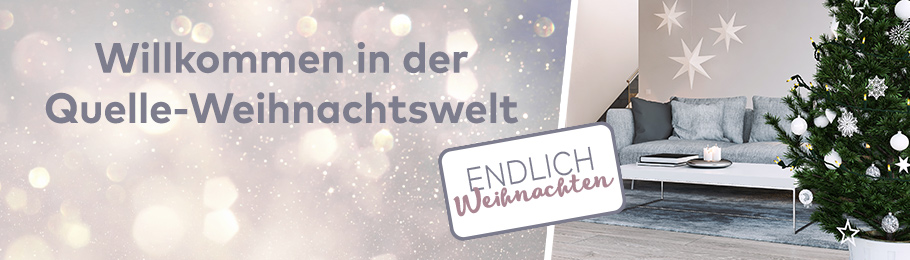 Endlich Weihnachten im Quelle Online Shop