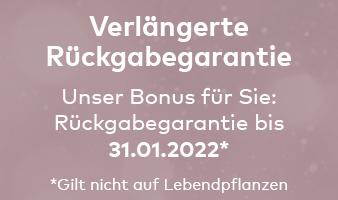 Verlängerte Rückgabefrist bis 31.01.2022 im Quelle Online Shop
